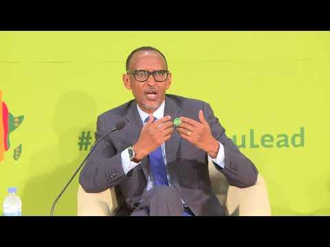 Africa Green Revolution Fund Presidential Panel | Kigali, 8 September 2018