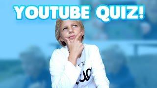 HOE GOED KEN IK DE NEDERLANDSE YOUTUBE COMMUNITY?! YouTubers Quiz!