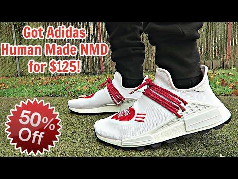 I Got Adidas Human Made NMD 50% OFF at $125!