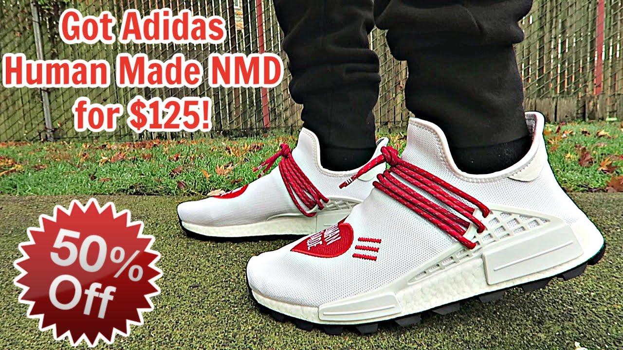 I Got Adidas Human Made NMD 50% OFF at