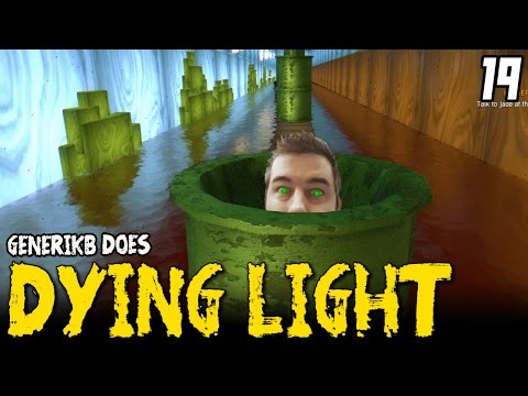 "DYING LIGHT Gameplay EP 19 - ""Secret Super Mario Level!!!"" Walkthrough Review"
