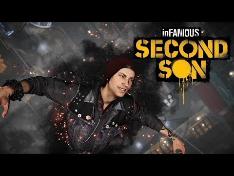 Let's play InFamous Second Son Gameplay Free Roam Fun-All Powers: Smoke, Neon, Video and Concrete!!