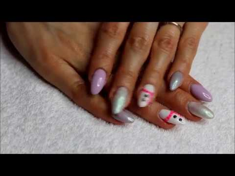 Zimowa inspiracja paznokciowa - nails