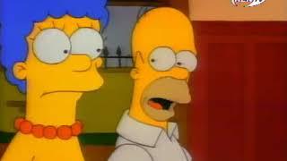 Симпсоны - 2 сезон - Маленький домик ужасов на дереве (clip1)