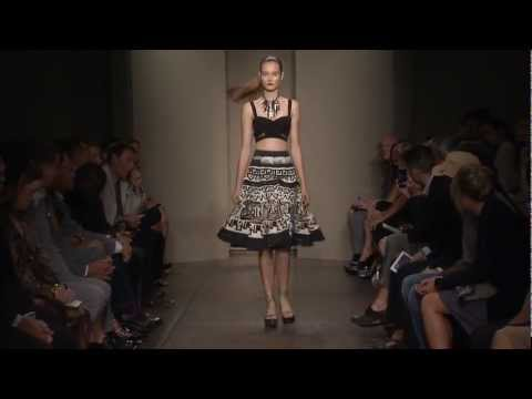 Donna Karan Spring 2012 Collection Interview with Ken Downing