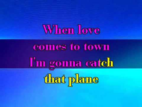 U2 & BB King - When Love Came To Town (Karaoke with Lyrics)