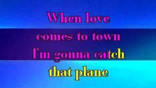 U2 & BB King - When Love Came To Town (Karaoke with Lyrics)