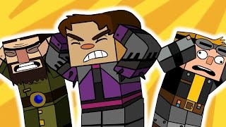 minecraft story mode 7 funny animation