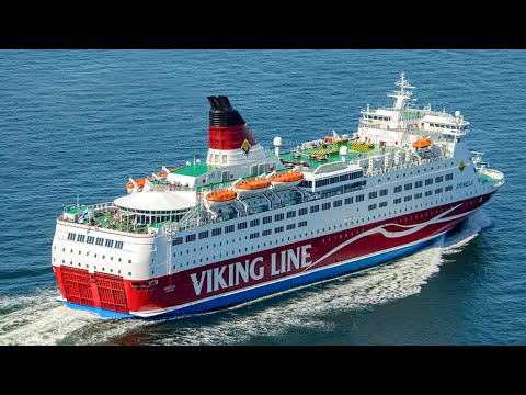 Viking line ship Mariehamn to Stockholm
