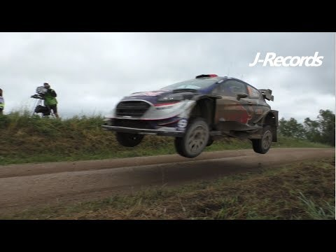 WRC Rally Poland 2017 - MAX ATTACK / FLAT OUT / JUMPS