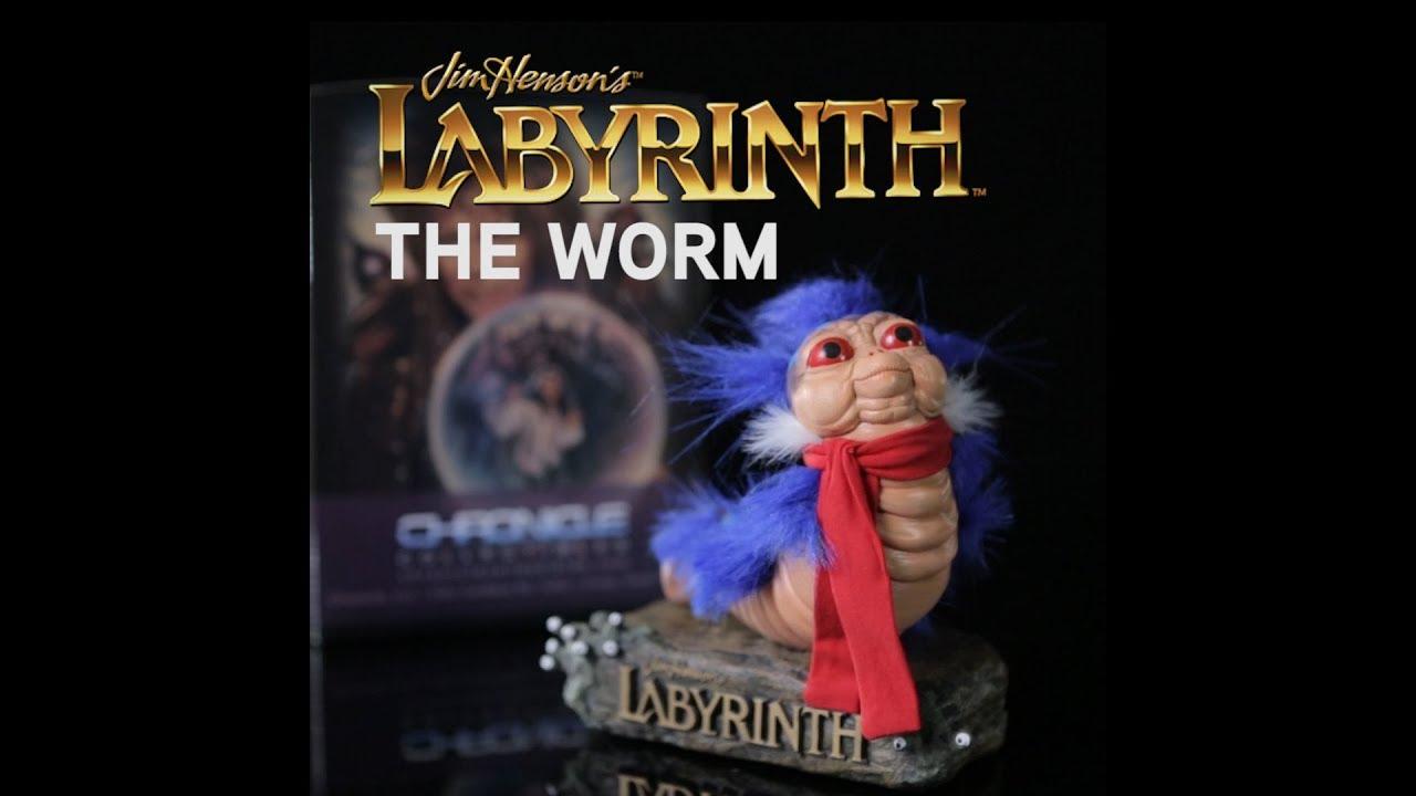 Labyrinth /'Ello Worm 1:1 Scale Statue Figure 5 3//4 Tall Polyresin Jim Henson