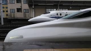 N700A  G37編成  出場試運転下り  三河安城駅発車