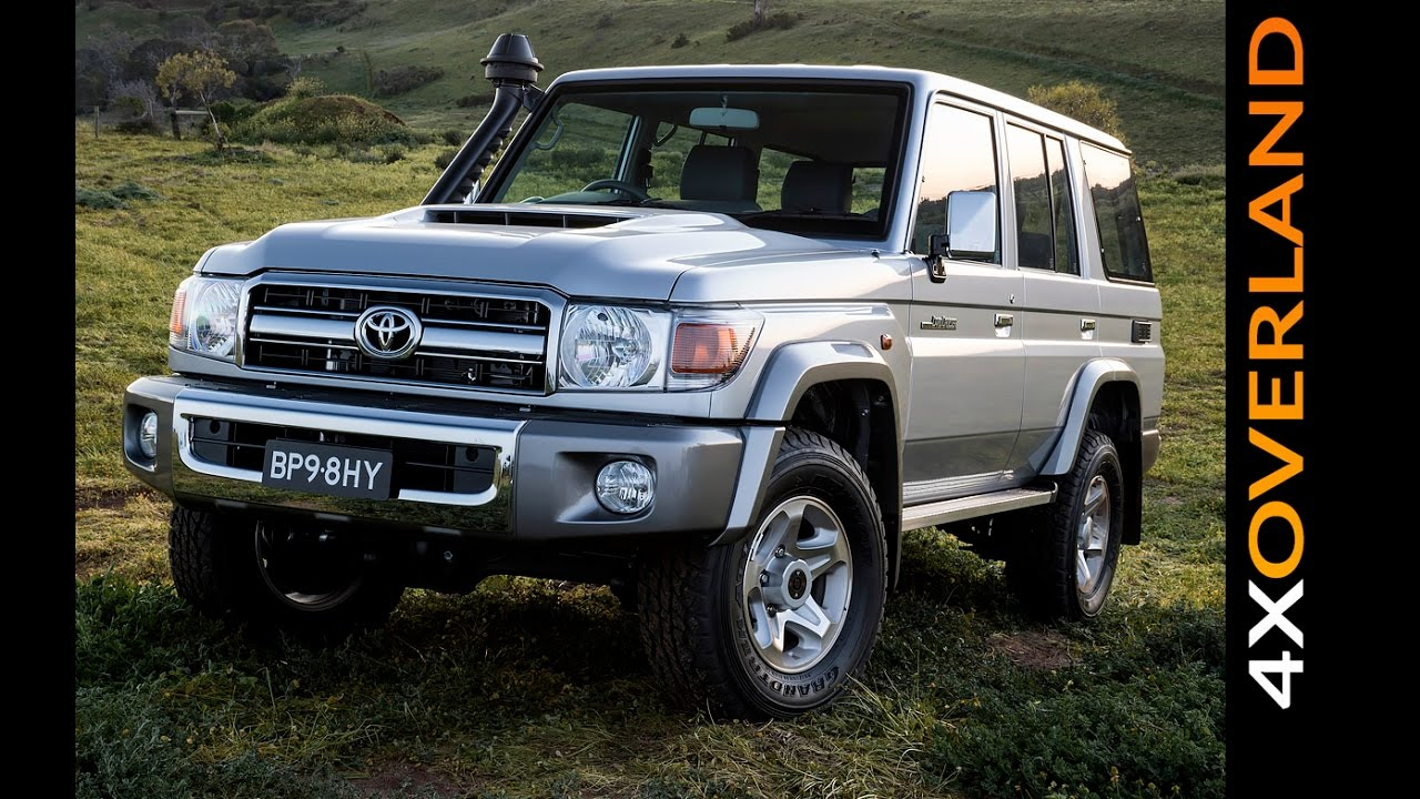 Toyota Landcruiser 70-series 2017 model update in Australia