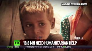 Millions displaced by humanitarian catastrophe in Yemen, more than 80% relying on aid– HRW to RT