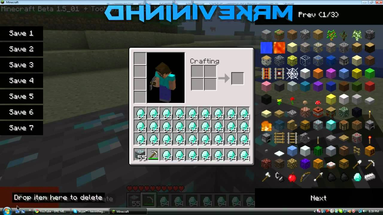 TooManyItems Mod for Minecraft 1.8.8