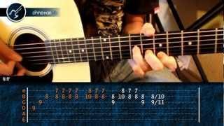 """Cómo tocar """"El Mariachi"""" de ANTONIO BANDERAS en Guitarra Acústica (HD) Tutorial - Christianvib"""
