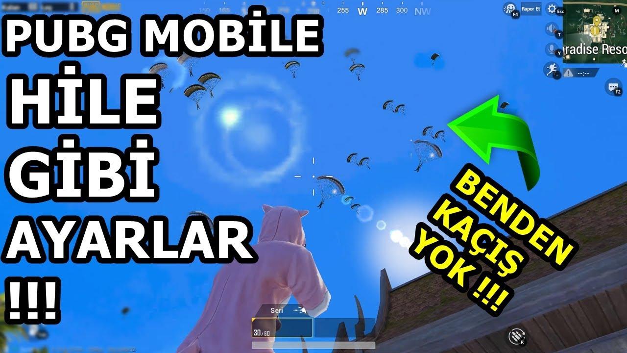 Pubg Mobile Hile Gibi Ayarlar 2 Size Hile Diyecekler Inanilmaz Youtube