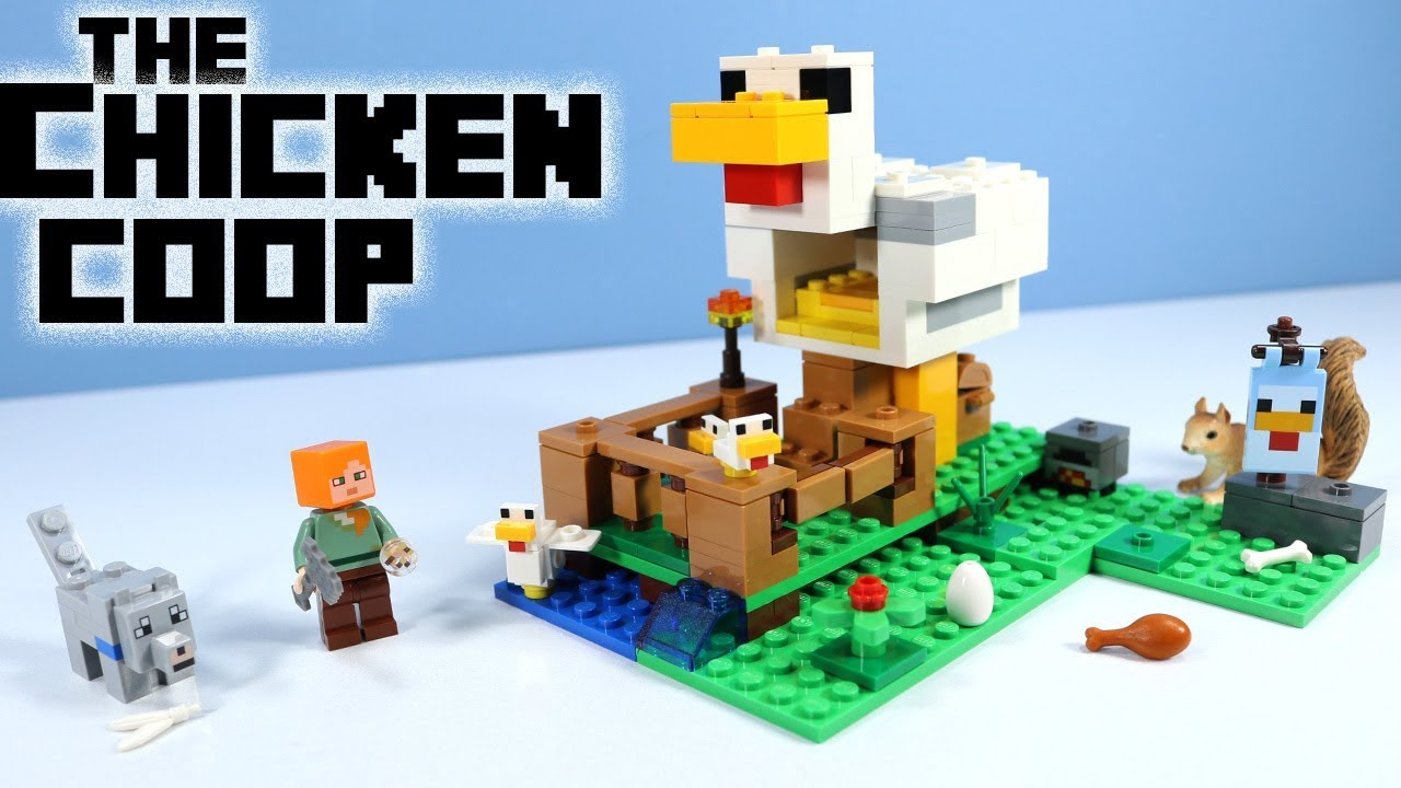The Chicken Coop Minecraft 21140 Lego