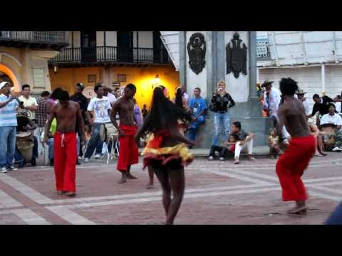 Afro Latino Dancing in Cartagena, Colombia