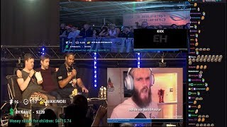 Sodapoppin Reacts to videos with dreamhack crowd HIGHLIGHTS (with chat)