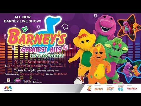 Barney's Greatest Hits - Live on Stage (Singapore - September 2016)