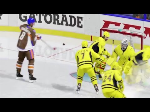 HEAD PASS, PENALTY SHOT EMPTY NET, BAD TEAMMATE (NHL 17 Clips)