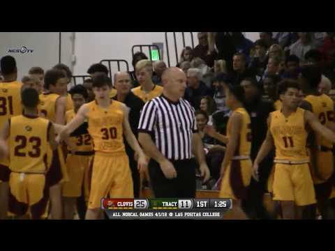 Clovis West vs Tracy High School Boys Basketball LIVE 12/30/17