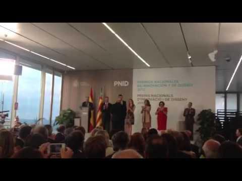 Entrega Premio Nacional de Diseño a Nacho Lavernia