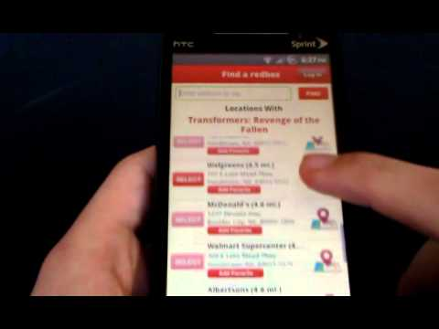 REDBOX ANDROID UPDATE