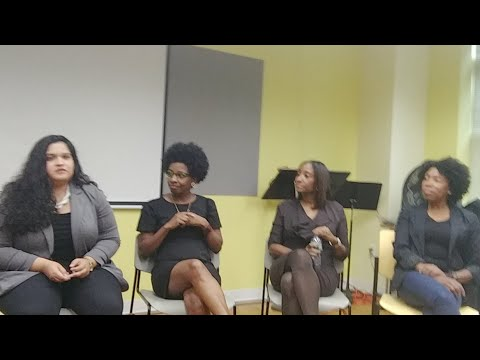 LIVE FROM WOMEN IN TECH PANEL AT HARLEM TECH WEEK