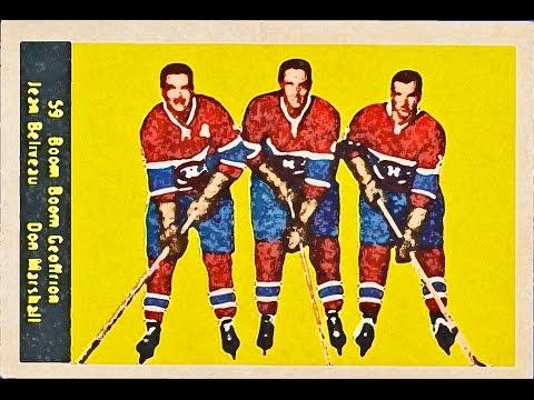 1960-61 Parkhurst NHL Complete Set