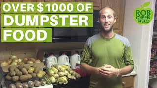 Dumpster Diving for Food with Rob Greenfield