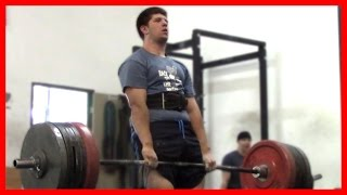 17 Year Old Deadlifts 500 Pounds!! (227.5 KG)