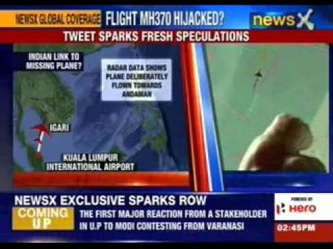 US defence say Malaysian Plane hijackers were planning an attack on India