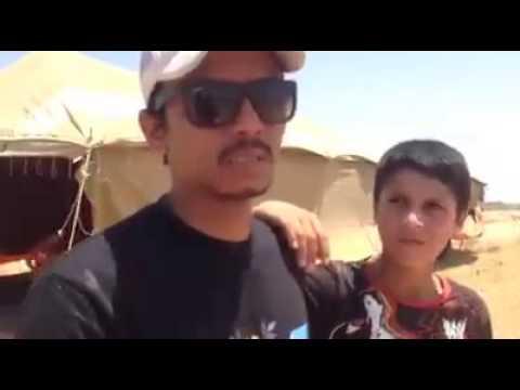 faizal tahir menangis di syria