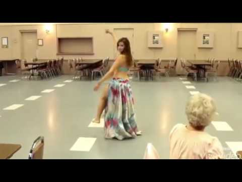 Hotest Gorgeous Arabic Girl's Amazing Belly Dance with Hindi Pop Ever 1