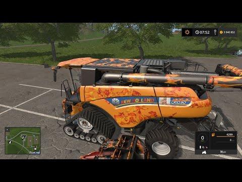 Обзор реактивного комбайна - Farming Simulator 2017