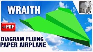 How to make Paper Plane Flying Diagram (PDF) | WRAITH