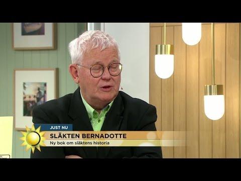 """Ny bok om Bernadotte: """"De första kungarna var notoriskt otrogna"""" - Nyhetsmorgon (TV4)"""