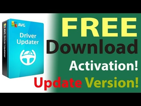 AVG Driver Updater  Full Version-2018 Working 100%  with Crack