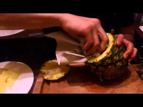 How to make a PINEAPPLE SHISHA by Tea Lounge (Prague)