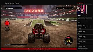 24 hour challenge MONSTER JAM