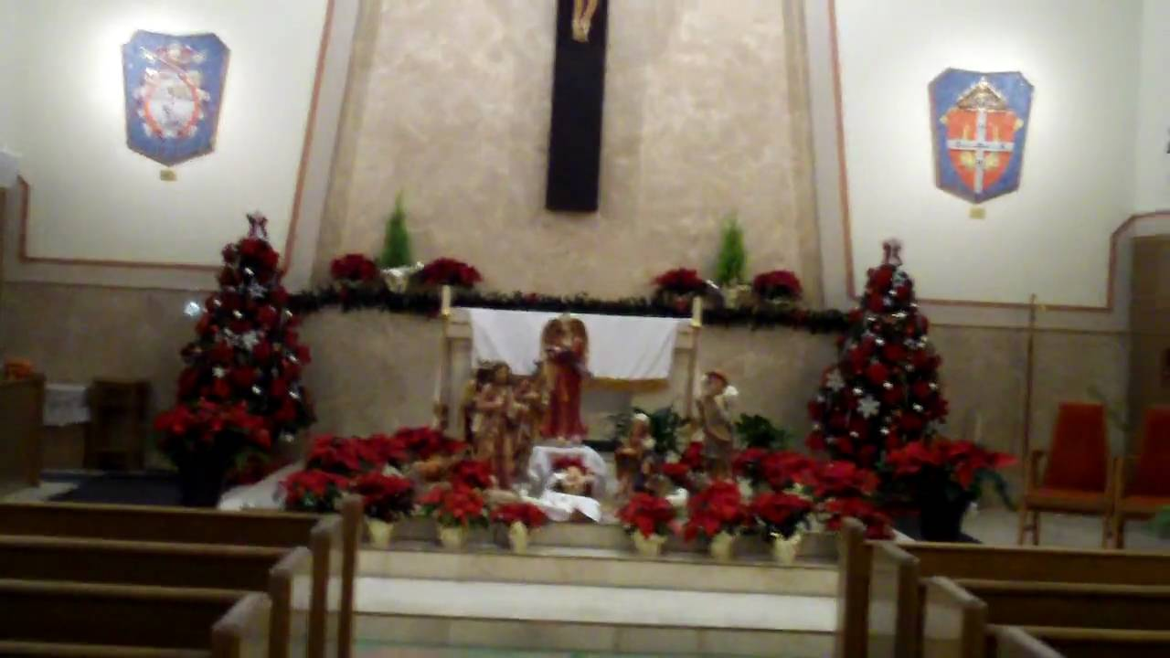Tour Of Pius X Church Christmas Decorations You
