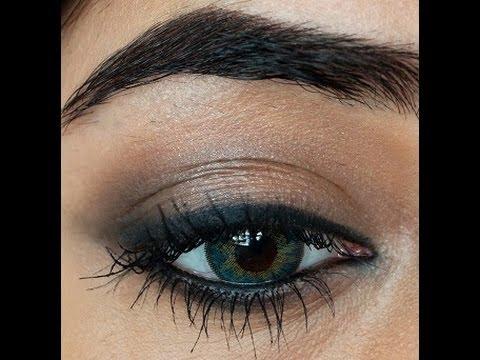 Smokey Liner Heavy Kohl Eye Makeup Tutorial Corallista