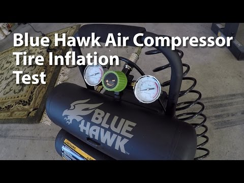 Blue Hawk Air Compressor from Lowes Hardware - Model 0470440