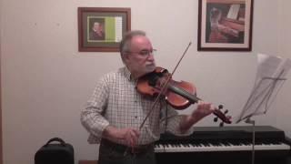 MI UNIVERSO de Jesús Adrián Romero.  Joaquín al violín.