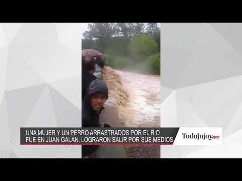 Cayó al rio en Juan Galán y se salvó: Le agradecí a la Virgen de Lourdes por poder salir
