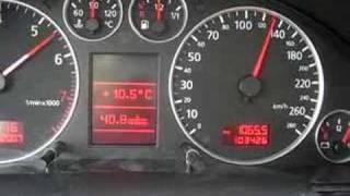 Audi A6 2.7BiTurbo 0-180
