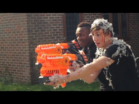 EPIC SIDEMEN NERF BATTLE