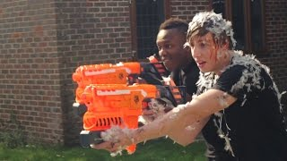 EPIC SIDEMEN NERF BATTLE Video